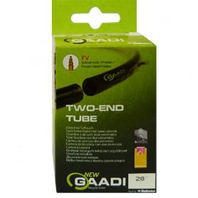 "2x GAADI offener bicycle tube 28"" box 50-54/622-635 SV-47mm"