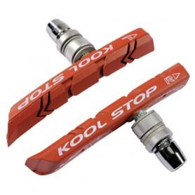 Kool-Stop Brake Shoe V-Brake MTB contour T1 salmon