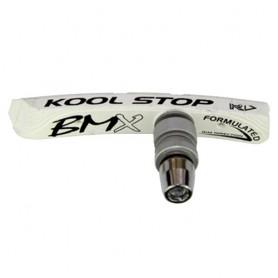 Kool-Stop Bremsschuh V-Brake BMX Contour T6 weiss