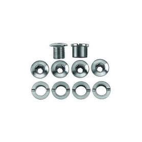 Kettenblattschrauben Stahl, 8.5mm Gew. mit normalen Hülsen 7mm (Set à 5 St.)