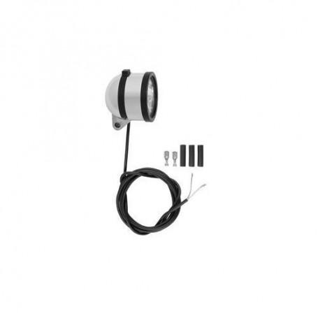 SCHMIDT /'Edelux II/' Scheinwerfer schwarz 90 Lux nicht 140cm Koax-Kabel