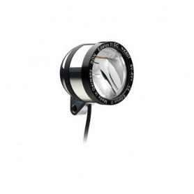 SON 'Edelux II DC' Scheinwerfer poliert 6V, Kabel, OHNE Schalter+Rücklichtausg. , NICHT geeignet bei niedriger Stombegrenzung (B