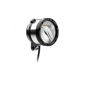 SON 'Edelux II DC' Scheinwerfer poliert 6-75V, Schalter, Kabel, Rücklichtausgang , auch geeignet bei niedriger Stombegrenzung (B