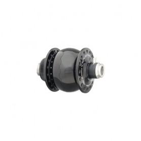SONdelux 12 disc centerlock, schwarz, 24 L., für 12mm-Steckachsen NEU