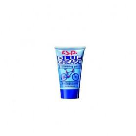 R.S.P. BLUE GREASE Spezialfett (Paste) gegen Kontaktkorrosion, Tube mit 50 ml passend für Fettpresse mit Gewinde M15 (z.B. RSP /