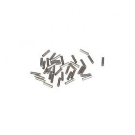 Alu-Endkappe für Seilzüge 1.1 - 1.9mm schlanke Ausführung, Btl. à 100 Stck