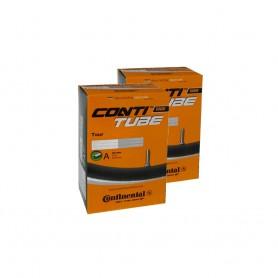 2x Continental Bike tube | AV - Auto valve | TOUR | 26 inch 28 inch
