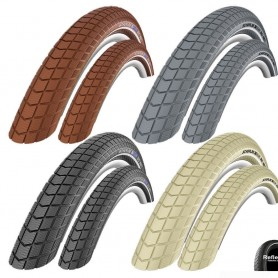 2x Schwalbe Big Ben bicycle tyre all size + colors puncture Protection