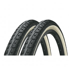 2x Continental RIDE Tour bicycle tyre 32-630 E-25 wired black/white
