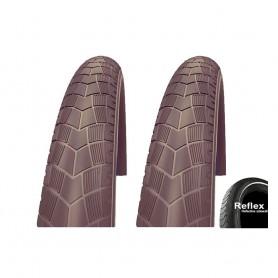 2x 50-622 Impac BigPac PPDraht, Reflex braun