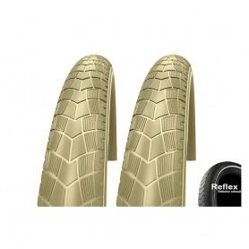 2x 50-622 Impac BigPac PPDraht, Reflex creme