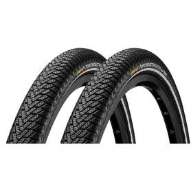 "2x Continental Top Contact Winter Premium Fahrrad Reifen 28"" 700 x 40C 42-622 Falt"