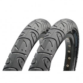 2x Maxxis tire HookWorm 53-406 20 inch wire black MPC