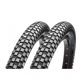 2x Maxxis tire HolyRoller 53-406 20 inch wire black MPC