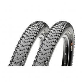 2x Maxxis tire Ikon TLR 57-559 foldable black 3C MaxxSpeed EXO