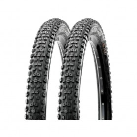 2x Maxxis tire Aggressor TLR 58-559 foldable black Dual EXO