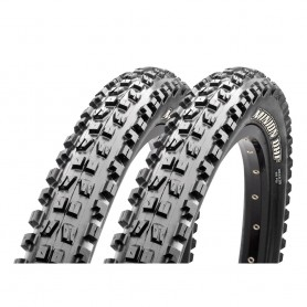 2x Maxxis tire Minion DHF Freeride TLR 58-559 foldable black 3C MaxxTerra EXO