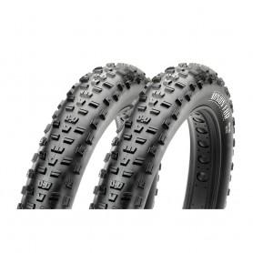2x Maxxis tire Minion FBR Fatbike 122-559 foldable black Dual