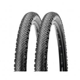 2x Maxxis tire Tread Lite TLR 53-584 foldable black EXO Dual