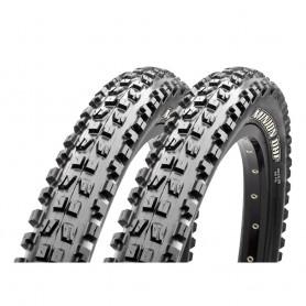 """2x Reifen Maxxis Minion DHF Downhill 27.5x2.50"""" 63-584 schwarz 3C Maxx Grip"""