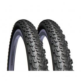 2x Mitas tire Scylla Top Design 57-584 foldable black TSS + Textra