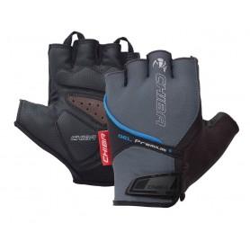 Chiba gloves Gel Premium short grey blue