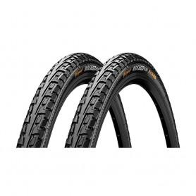 2x Continental RIDE Tour Fahrrad Reifen 28 x 1.75 | 47-622 | schwarz