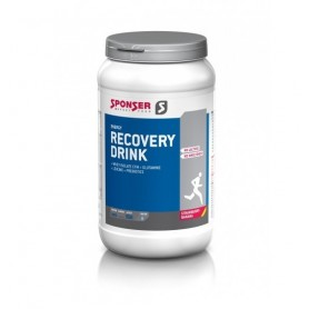 Sponser Recovery Drink carbohydrate protein powder 1200g can aroma Strawberry/Banana