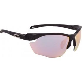 Alpina Sonnenbrille Twist Five HR QVM+ schwarz Glas Vario Regenbogen