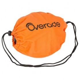 Overade Stoff-Aufbewahrungstasche für Fahrradhelm Plixi orange