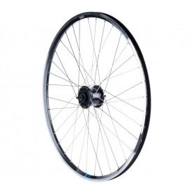 """Exal wheel ZX19 28"""" Dynamo, front, black"""