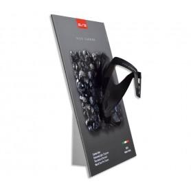 Bottle holder Rocko Carbon black red