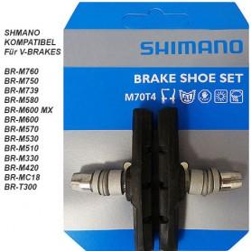 Shimano Bremsschuhe M70T4 V-Brake schraub symmetrisch