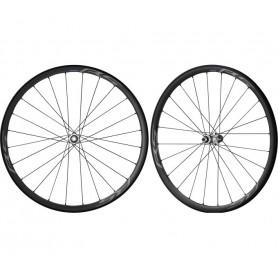 Shimano Laufradsatz WH-RS770, VR + HR, schwarz