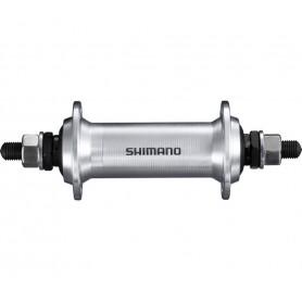 Shimano front hub HB-TX500, 36 hole, 100 mm, silver