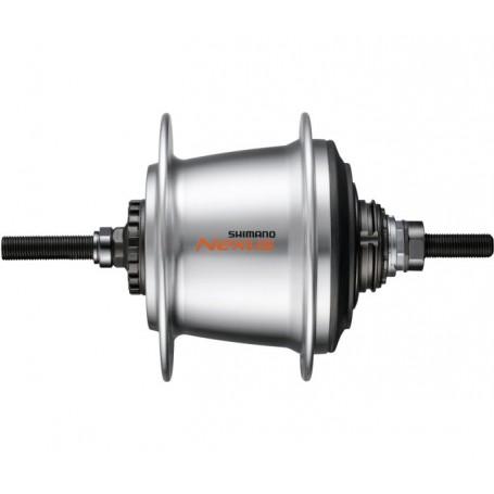 silber 28 L Shimano Getriebenabe NEXUS 3-Gang SG-3C41 120 x 168 mm