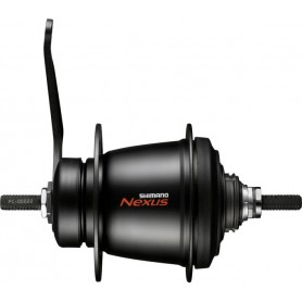 Shimano Gear hub NEXUS 7-gear SG-C3001-7-C, 36 hole, 127 mm, black