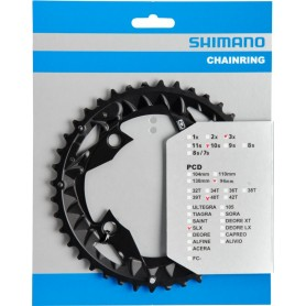 Shimano Chainring SLX FC-M672/FC-M622 40 teeth SLX PCD 96mm black