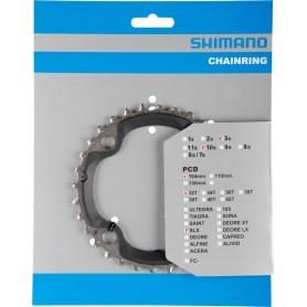 Shimano Chainring SLX FC-M670, 32 teeth, 104 mm, black