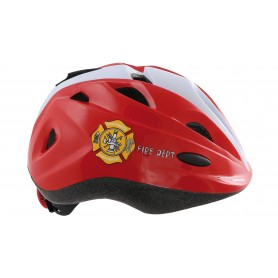 "Contec Child's helmet ""Lil.Reddy"", red/grey, size S (51-54 cm)"