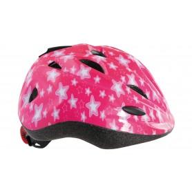 "Contec Kinderhelm ""Starlet"", pink/grau, Größe S (51-54 cm)"