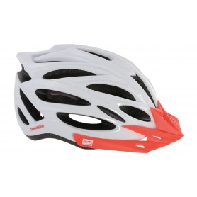 Contec MTB helmet Rok.23 white neon red size M 55-58 cm