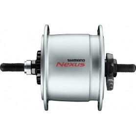 Shimano Nabendynamo NEXUS DH-C6000-1R 1.5 W, Schutz hoch, silber