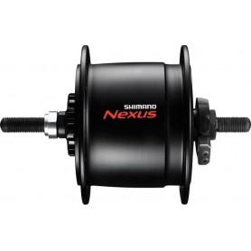 Shimano Nabendynamo NEXUS DH-C6000-3R 3W, Schutz hoch, schwarz