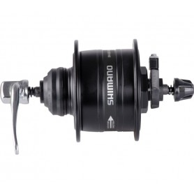 Shimano Hub dynamo DH-3D37 3W Center-Lock, 32 hole, QR, black