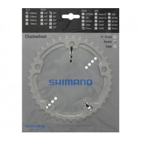 Shimano Chainring Road FC-R550, 39 teeth, 130 mm, silver
