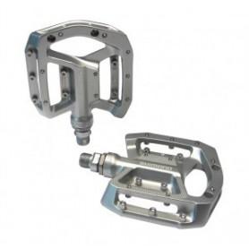 Shimano pedals PD-GR500, platform, pair, silver