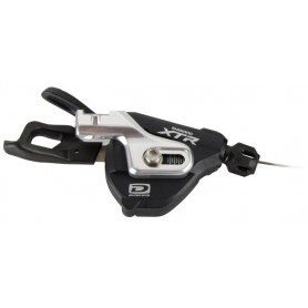 Shimano gear lever XTR SL-M980 I-Spec, 2/3-speed, left, black/silver