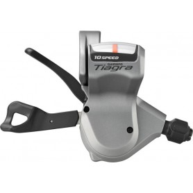 Shimano gear lever TIAGRA for flat handlebars SL-4600, 2-speed, left, silver