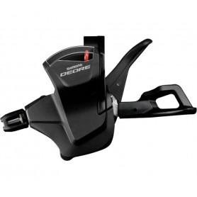 Shimano gear lever DEORE MTB SL-M6000, 2/3-speed, left, opt. Gear display, black